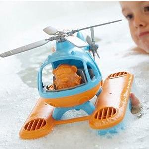 Green Toys 水陆两用直升机玩具