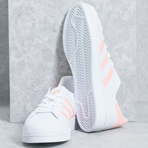 Adidas阿迪达斯Originals Superstar 女款贝壳头 粉色
