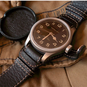 Hamilton汉密尔顿 Khaki Field Pioneer系列H60419533男士机械手表