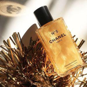 Chanel 金粉流沙香体乳 经典5号上新
