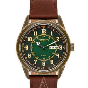 SEIKO Recraft系列 SNE448 男士光能时装腕表
