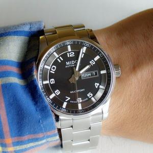 Mido美度 舵手系列 M005.430.11.082.80 男士机械腕表