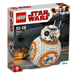 LEGO乐高 Star Wars 星球大战第八部 75187 BB-8 宇航技工机器人