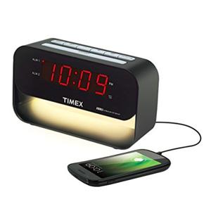 Timex 天美时 T128B6 可充电闹钟