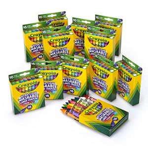 Crayola绘儿乐 可水洗蜡笔 16支*12盒