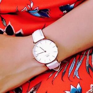 Daniel Wellington丹尼尔惠灵顿 DW00100189-90 女士时装手表 白色款