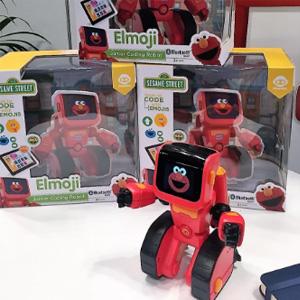 再降新低!WowWee Elmoji 幼教机器人