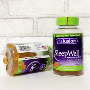 Vitafusion 舒眠软糖60粒*3瓶