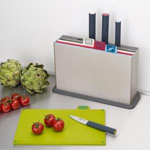 Joseph Joseph 分类菜板及炫彩刀具组合