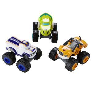 Fisher-Price费雪 Nickelodeon 火焰和怪物卡车玩具 3辆装