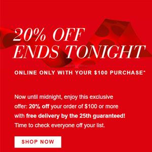 Estee Lauder美国官网圣诞购物季满额8折+正装赠品更新
