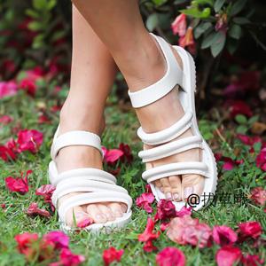 反季囤货!Melissa Flox + Vitorino Campos成人罗马平底凉鞋