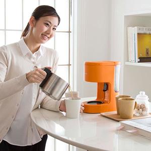 TIGER 虎牌 ACC-S060-D 咖啡机 6杯份 橙色款