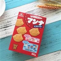 森永制药 婴幼儿铁钙饼干86g/南瓜土豆磨牙饼干 两款选