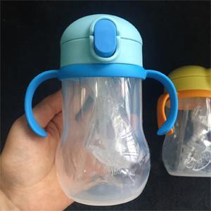 THERMOS膳魔师NPD-350儿童吸管杯 350ml 黄色/蓝色