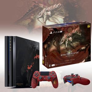 SONY PS4 PRO 怪物猎人 世界 限定版主机