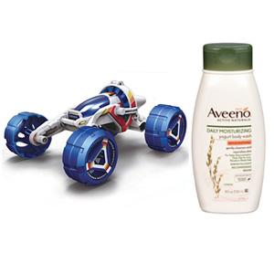 组合无税!OWI 盐水燃料赛车套装+Aveeno 保湿沐浴露 532ml*3瓶