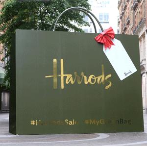 Harrods美国官网圣诞促销低至5折