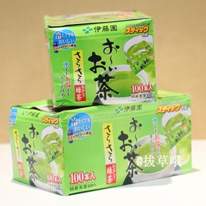 伊藤园 抹茶绿茶棒 100袋