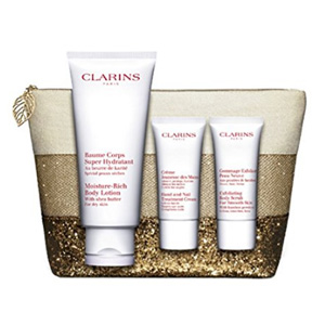 Clarins娇韵诗 肌肤护理套装 赠化妆包