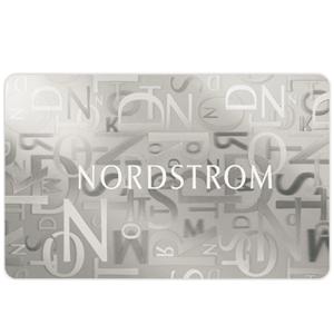 送$50!Nordstrom圣诞节买$300礼品卡送$50/买$150礼品卡送$20