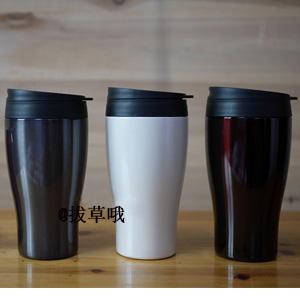 DOSHISHA CBCT400BR 真空保温保冷 两用杯 360ml 棕色