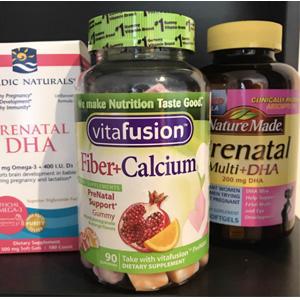 Vitafusion膳食纤维+钙软糖90粒