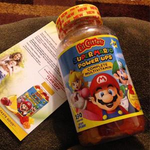 L'il Critters 复合维生素小熊软糖 超级玛丽款 190粒