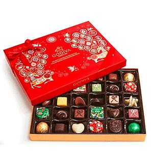 无节操再降!Godiva歌帝梵官网精选巧克力礼盒低至4折