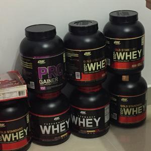 Optimum Nutrition 乳清蛋白增肌粉 2.27kg(5磅) 多口味可选