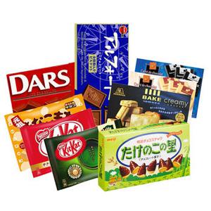 Meiji 明治 人气零食大礼包(含明治巧克力饼干、雀巢威化饼干、森永巧克力等)