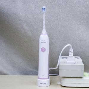 Philips飞利浦 HX3226/41 声波震动牙刷(含两支刷头)