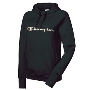 Champion Logo 女士连帽卫衣