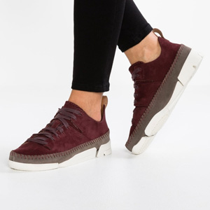 大码福利!Clarks其乐 Originals Trigenic Flex 女式低帮运动鞋