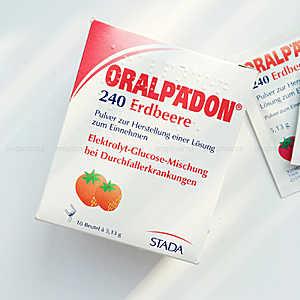 凑单品!ORALPAEDON婴幼儿电解质粉 草莓味 5.132g×10包