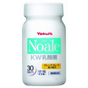 Yakult养乐多 Noale KW乳酸菌片剂 30粒