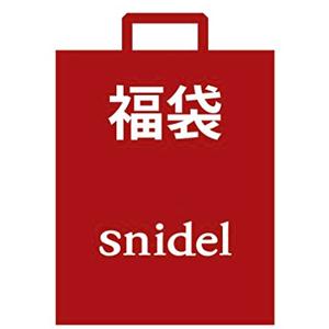 snidel 2018年福袋 4件套A组补货