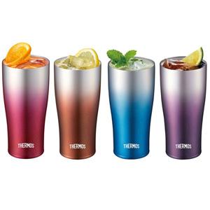 新品 THERMOS膳魔师 JDE-420C 保温保冷杯 420ml 多色可选