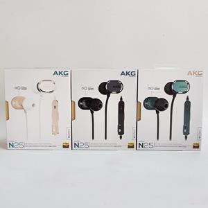 2017新品 AKG 爱科技 N25 双动圈 入耳式耳机 三色可选