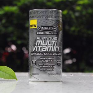 降价!MuscleTech肌肉科技 白金复合维生素 90粒