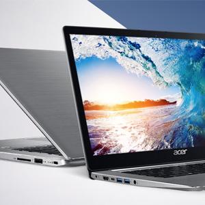Acer宏碁 蜂鸟Swift 3 轻薄笔记本 星光银 (i5-8250U/8G/256 SSD)