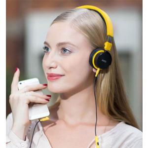 AKG 爱科技 Y40 头戴式耳机 黄色