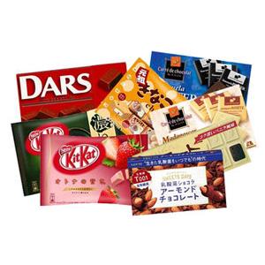 日本零食大礼包(雀巢威化夹心巧克力、森永巧克力、松尾糯米糍巧克力)