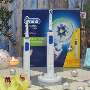 Oral-B Pro 690 电动牙刷 2只装