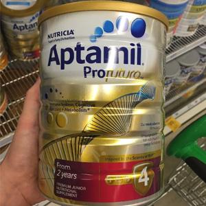 补货!Aptamil爱他美 白金版4段婴幼儿奶粉 900g