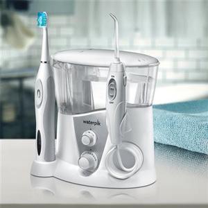 Waterpik洁碧 WP-950 水牙线和声波牙刷套装