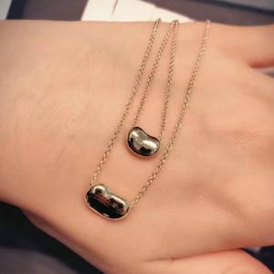 Tiffany 蒂芙尼 豌豆吊坠项链 27402968 小号 玫瑰金