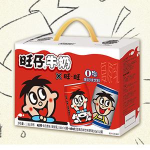 限地区!Want Want 旺仔牛奶 6罐+O泡果奶2罐 组合装 245ml*8罐