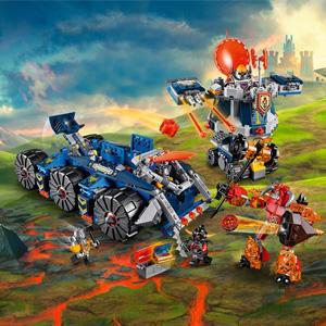 LEGO乐高 Nexo Knights系列 70322 艾克索的合体塔防战车