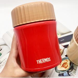 THERMOS膳魔师 JBI-382 焖烧罐 0.38L 红色